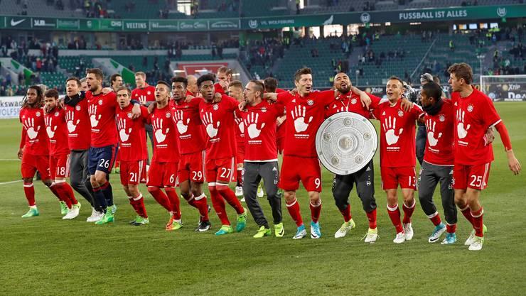 Nach dem verlorenen Pokal-Halbfinal und der verpatzten Champions-League-Saison kommt der Meistertitel dem FC Bayern gerade gelegen. Keystone
