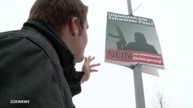 Junge Schwyzer SVP setzt auf IS-Kämpfer