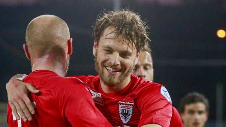 Olivier Jäckle ist seit 2012 im FCA-Profiteam
