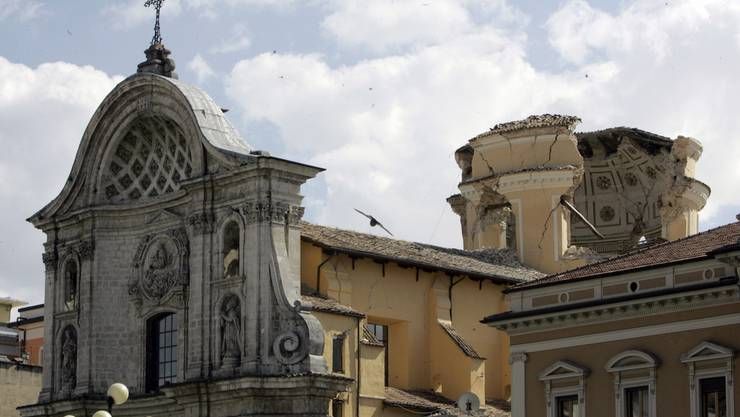 Am 6. April 2009 bebte in L'Aquila die Erde