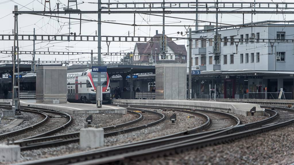 Zugunterbruch wegen Person in Gleisnähe