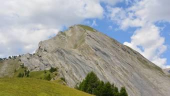 Der Gleitschirmpilot verunglückte unterhalb des Gipfels am Pra Roua bei Sitten VS.