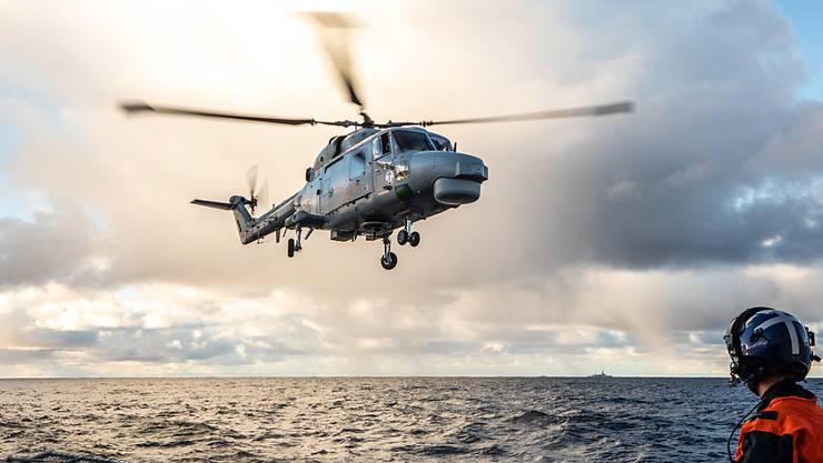 Ein Nato-Helikopter ist im Mittelmeer abgestürzt und alle sechs Insassen seien ums Leben gekommen. (Symbolbild)