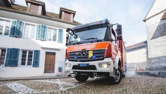 Feuerwehreinsatz bei Wohnungsbrand in Solothurn. (Symbolbild)