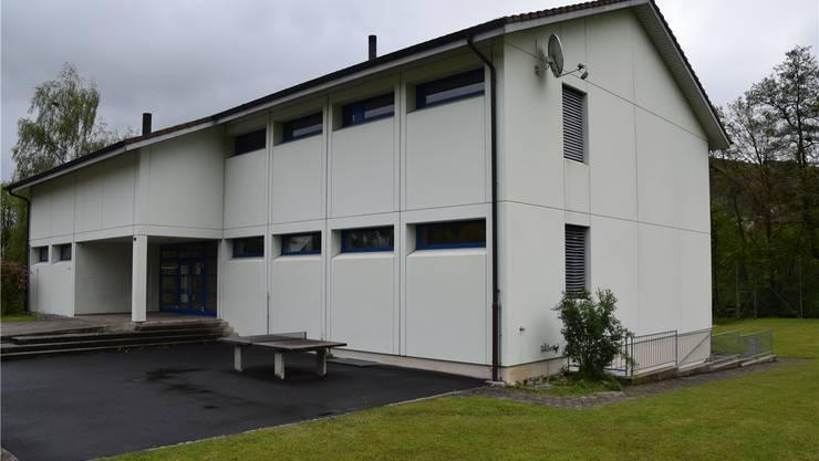 Dieser Elementbau diente in Hilfikon von 1996 bis 2009 als Schulhaus. Toni widmer