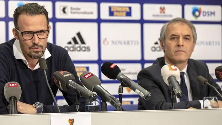 Marco Streller und Marcel Koller ziehen trotz der schlechtesten Hinrunde seit der Einführung der Super League vor 16 Jahren eine positive Bilanz.