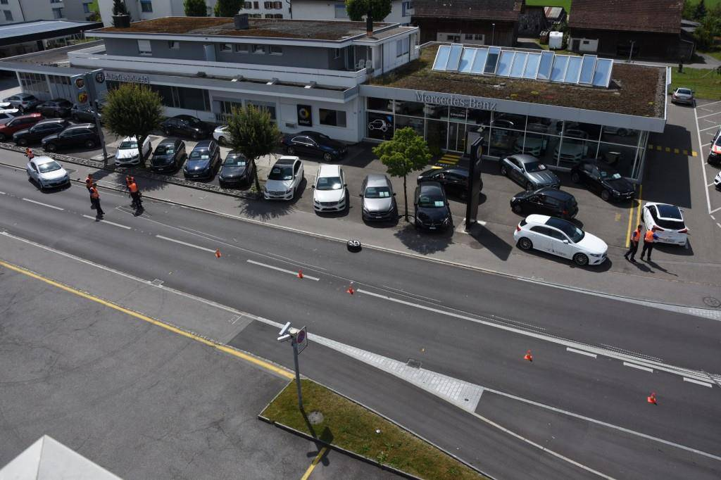 Unfall in Rapperswil