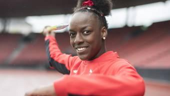 Yasmin Giger lief bei der U20-WM über 400 m Hürden als Dritte ins Ziel