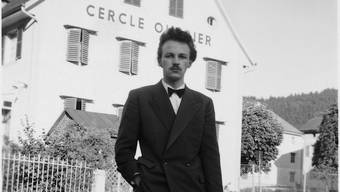 Francis Giauque am 13. Juli 1952 in Sonvilier.
