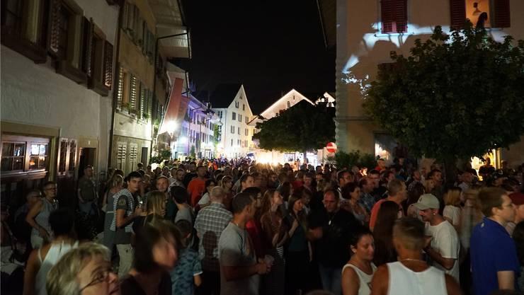 Das Gassenfest in Mellingen vor drei Jahren ist noch in bester Erinnerung.