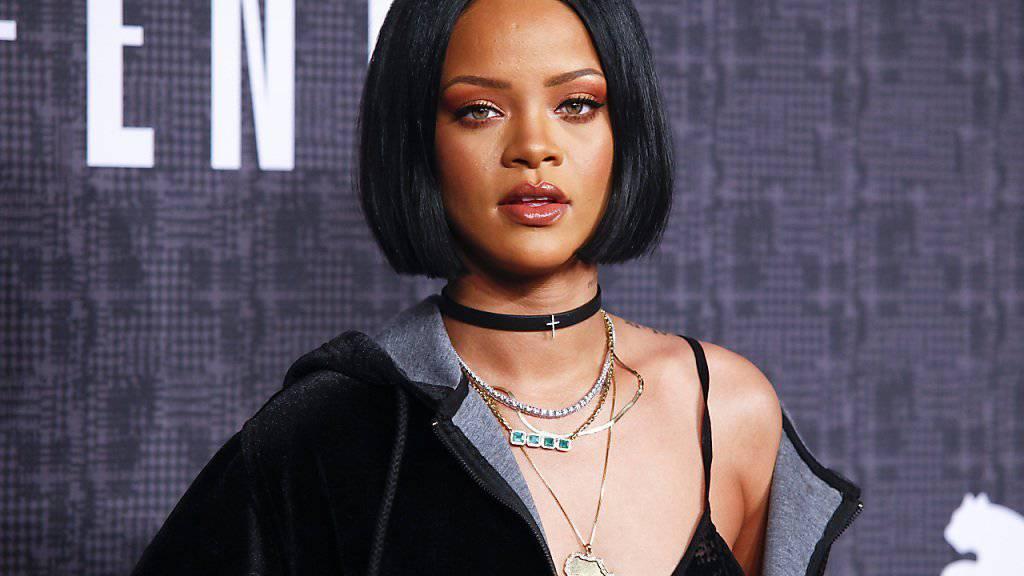 Popstar Rihanna erhält berühmte «Psycho»-Rolle in TV-Serie «Bates Motel». (Archivbild)