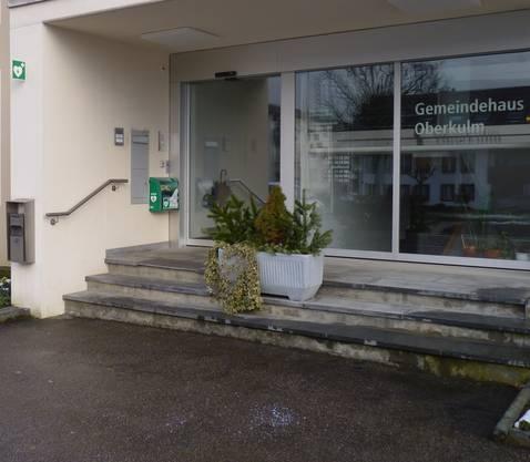 Defibrillatorstandort beim Gemeindehaus