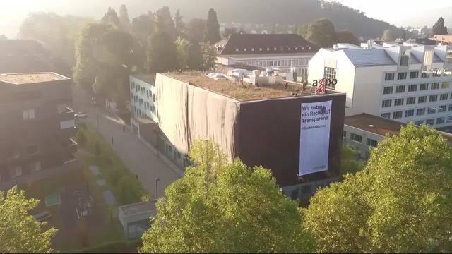 Axpo-Hauptsitz im kleinen Schwarzen