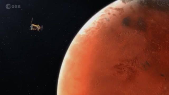 Berner Kamera nimmt Kurs auf Mars