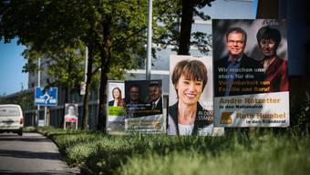 CVP, BDP und GLP befinden sich gemäss Wahlbarometer im Sinkflug.