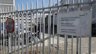 Blick auf das Fabrikgelände von Tornos in Moutier (Archiv)