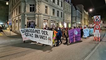 Demo Gewalt an Frauen