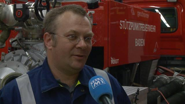 Überschwemmungen und Hagelkörner bringen grosse Schäden in Baden