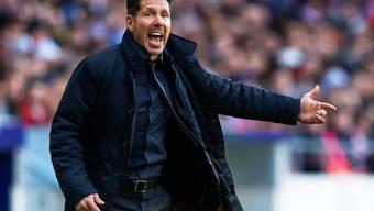 Alles mitfiebern nützt nichts: Diego Simeone scheidet mit Atlético Madrid aus der Champions League aus