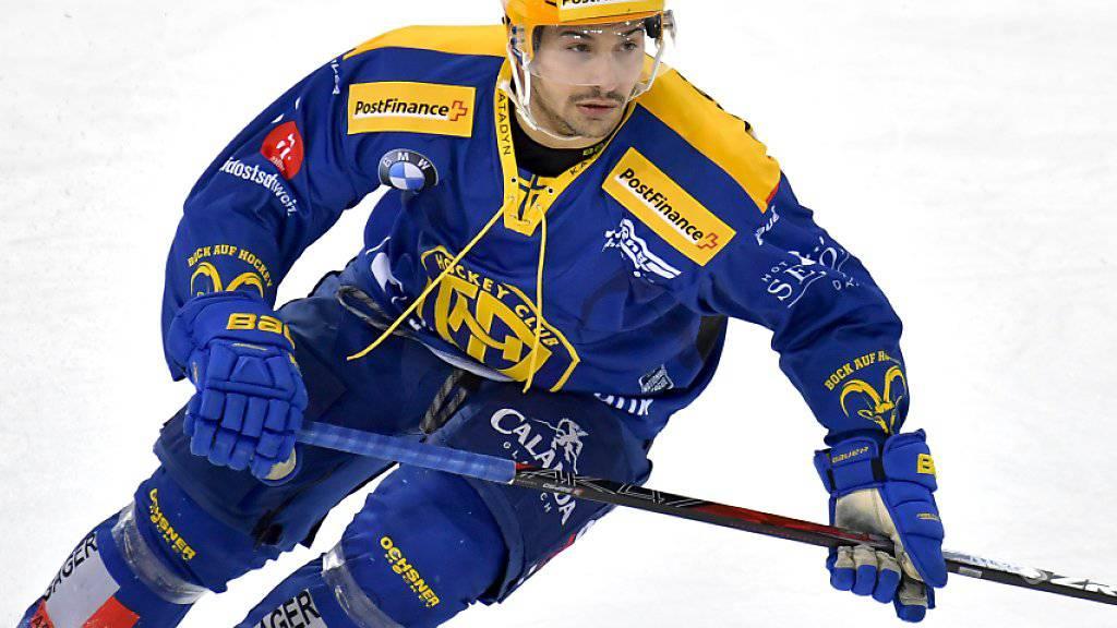 Inti Pestoni verlässt nach nur einer Saison bereits wieder den HC Davos