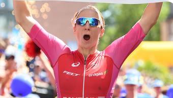 Daniela Ryf siegte in Zürich. (Archiv)