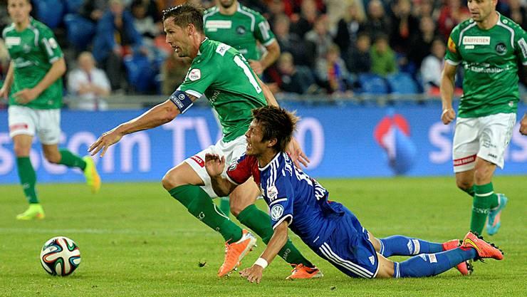 Nach der Bruchlandung gegen St. Gallen wollen sich Yoichiro Kakitani und der FC Basel in Sion rehabilitieren.
