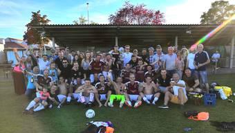 Es ist vollbracht. Dank diesem abschliessenden Sieg qualifiziert sich der FC Rüttenen zum 1. Mal in der Vereinsgeschichte für die Aufstiegsspiele zur 2. Liga.