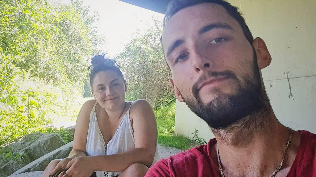 Remo und Helferin Aisha