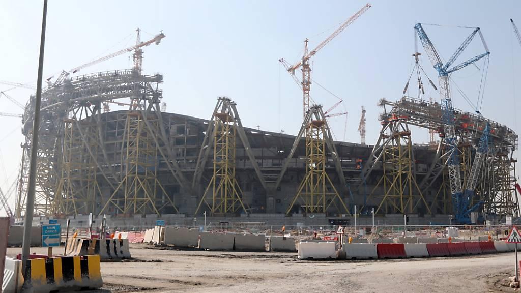 In Katar ist ein drittes WM-Stadion für die Endrunde vom November/Dezember 2022 fertiggestellt worden