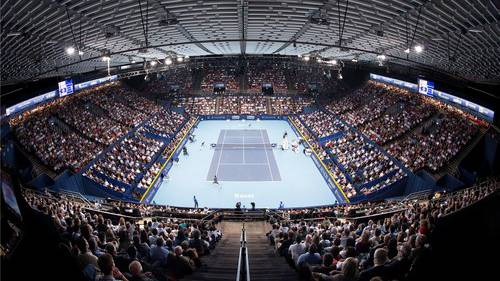 Auch die Swiss Indoors profitieren von der Unterstützung.