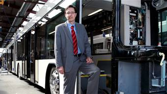 Baut bereits an der Mobilität der Zukunft: Alex Naef, CEO und Inhaber der Bellacher Carrosserie Hess AG.HP. Bärtschi