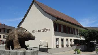 Vorübergehend führt der Genossenschaftsvorstand das Gasthaus Bären. MHU/Archiv AZ
