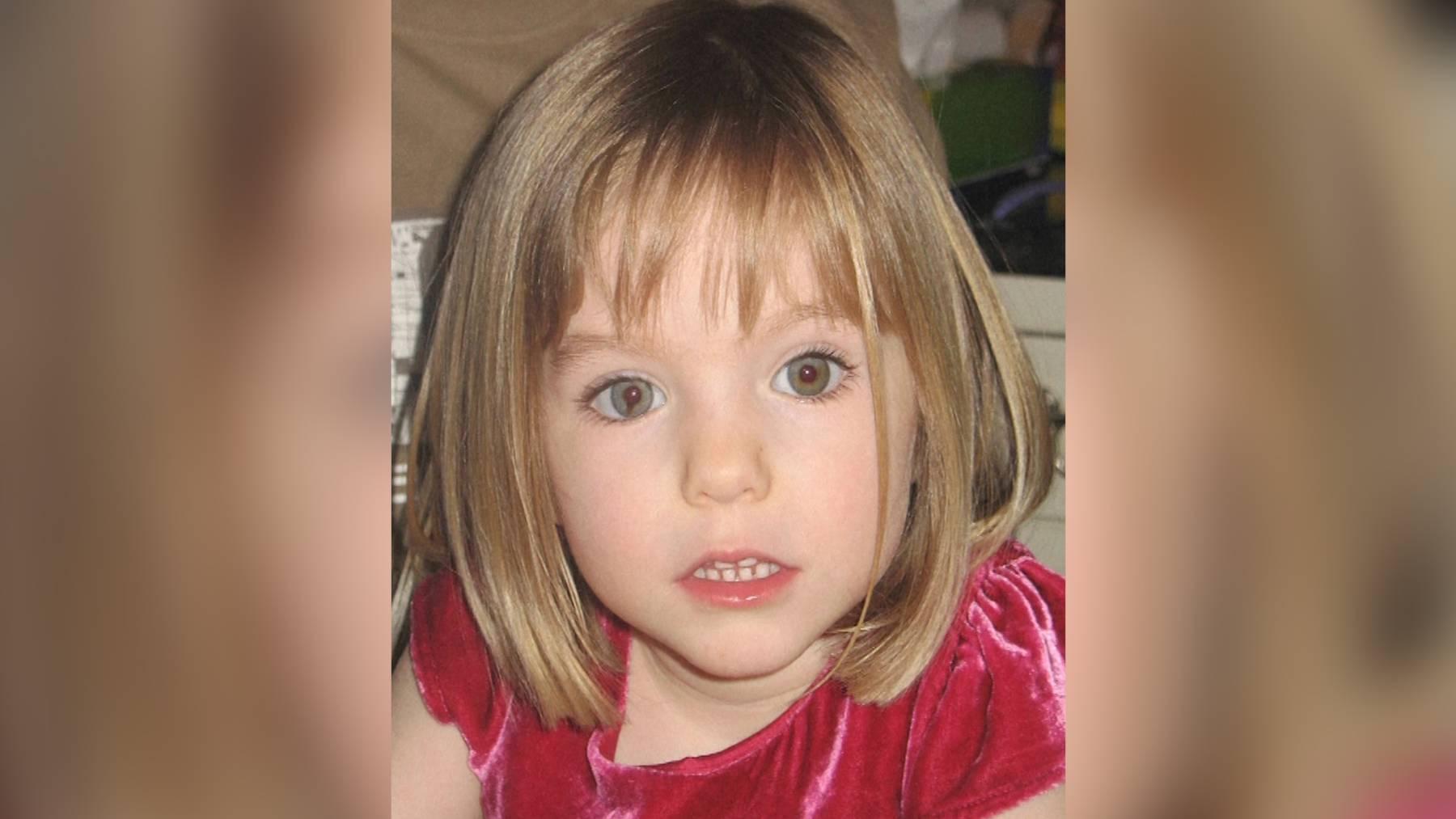 Maddie McCann verschwand 2007 aus einer Ferienanlage in Portugal.