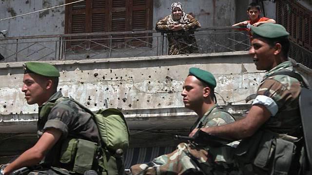 Libanesische Soldaten (Archiv)