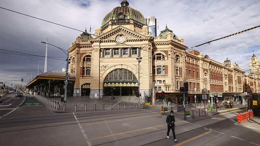 Millionenmetropole Melbourne bleibt eine weitere Woche im Lockdown