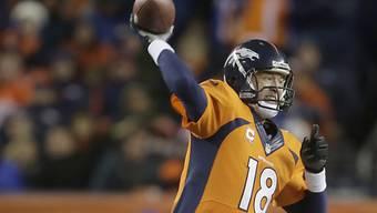Peyton Manning, Quarterback der Denver Broncos