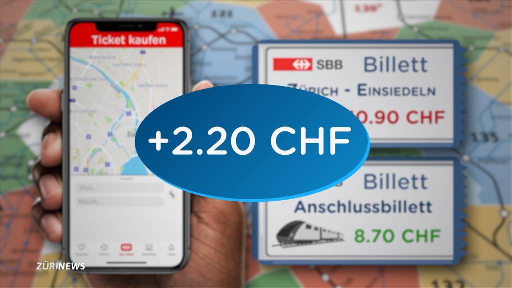 Zu teure SBB-Tickets: App erkennt Zonen-Abos nicht richtig