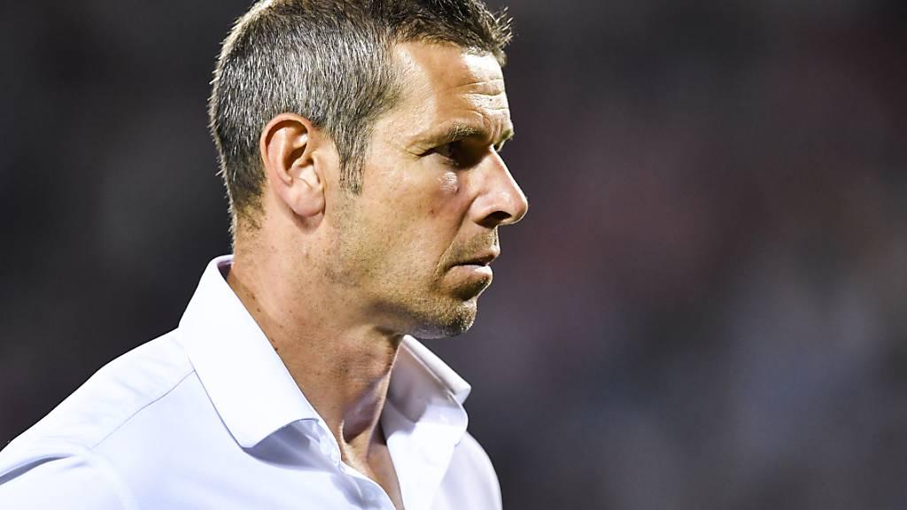Trainer Mario Frick sah seine Vaduzer um einen Punkt kämpfen