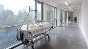 Spitalbett im Herzzentrum des Unispitals Zürich (Archiv)