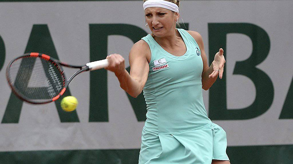 Timea Bacsinszky erreichte in Wimbledon 2015 die Viertelfinals. Dieses Jahr hofft sie auf eine Bestätigung dieses Resultats