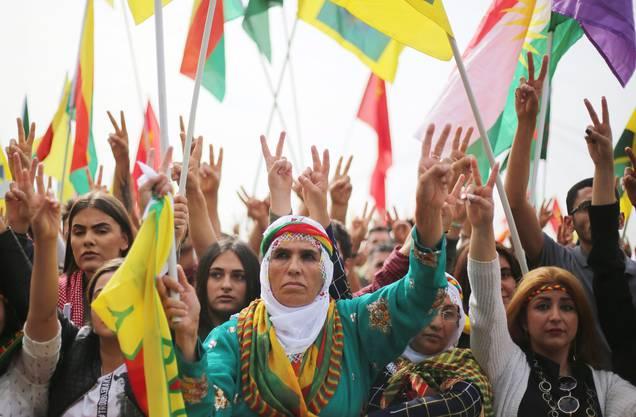 Zugleich war es auch eine Demonstration gegen die Politik des türkischen Präsidenten Recep Tayyip Erdogan.