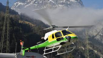 Aufnahme des Helikoptertyps Ecureuil. (Bild: Thomas Schmid, www.tsis.ch)