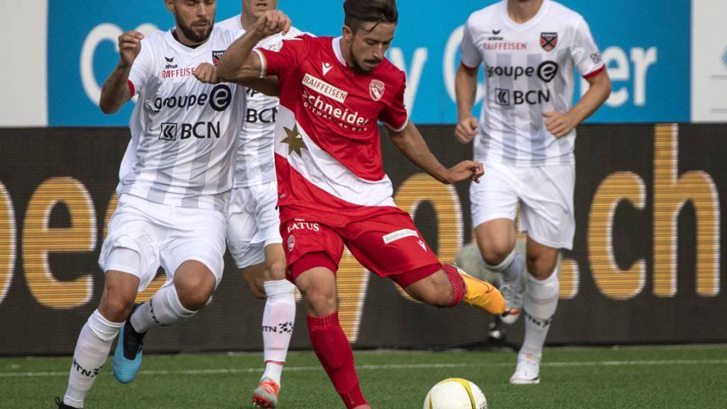 Nach dem Wegzug von Dejan Sorgic müsste Neuzugang Miguel Castroman für den FC Thun Tore schiessen - oder sie vorbereiten