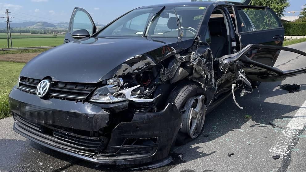 Mann bei Unfall schwer verletzt – Rega im Einsatz