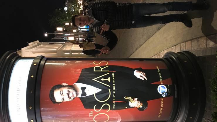 Joel Grolimund an den Oscars – Blick ins persönliche Fotoalbum