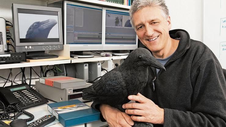 Der Basler Biologe Andreas Moser wurde mit «Netz Natur» zu einer Institution beim SRF.