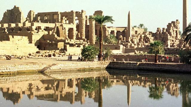 Die Tempelanlage Karnak (Archiv)