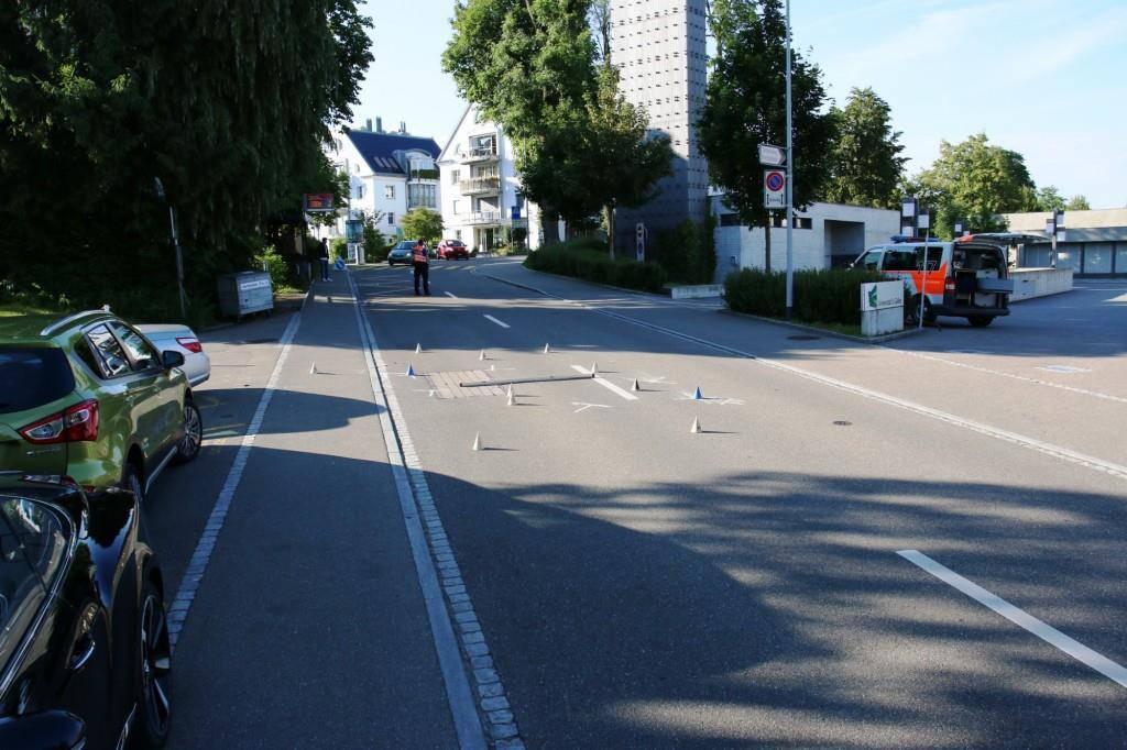 Unfall St.Gallen (© Stapo St.Gallen)
