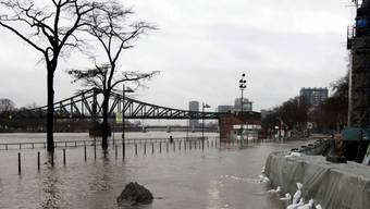 Der Main beschert Frankfurt das schwerste Hochwasser der vergangenen Jahre