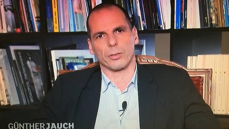 Yanis Varoufakis nahm gestern im deutschen Fernsehen Stellung.